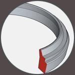 Stěrací kroužek těsnění