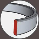 Vodící kroužek - těsnění