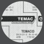 Temacid 150 Bezazbestové těsnící desky