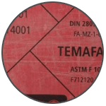 Temafast 10 Bezazbestové těsnící desky